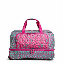 Vera Bradley Wheeled Carry-On in Ditsy Dot