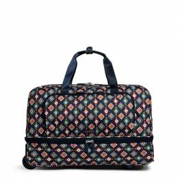 Vera Bradley Wheeled Carry-On in Mini Medallions
