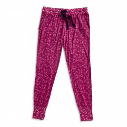 Vera Bradley Lounge Pajama Pants in Ditsy Dot Berry