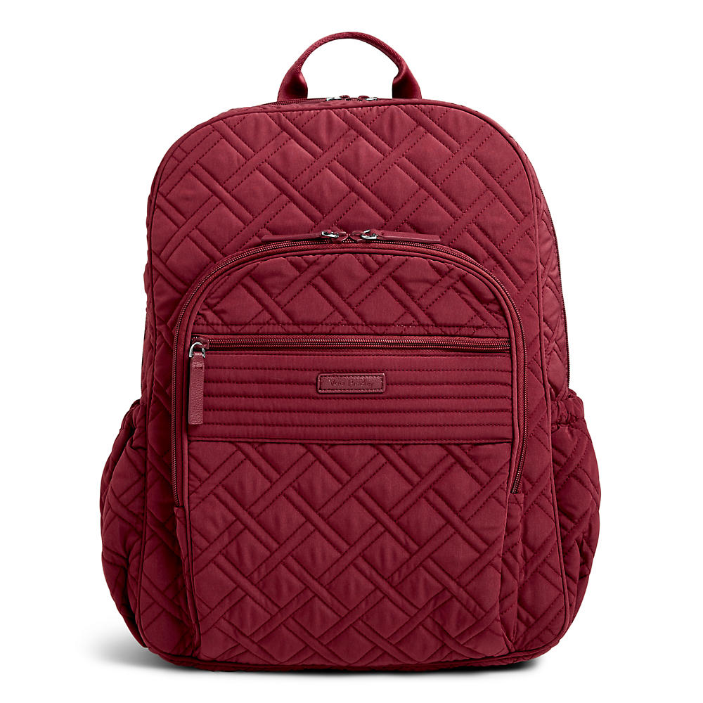 40b7dba863 Vera Bradley Campus Tech Backpack in Hawthorn Rose