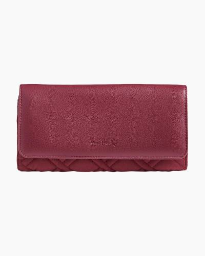 RFID Audrey Wallet in Hawthorn Rose