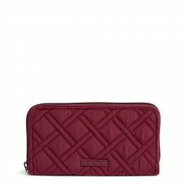 Vera Bradley RFID Georgia Wallet in Hawthorn Rose