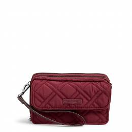 Vera Bradley RFID All in One Crossbody in Hawthorn Rose