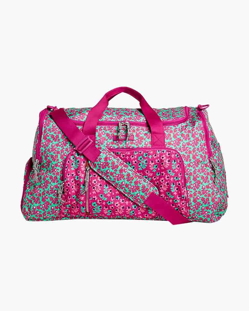 Gym Bag Vera Bradley: Vera Bradley Lighten Up Ultimate Gym Bag In Ditsy Dot