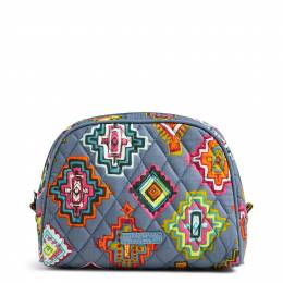 Vera Bradley Medium Zip Cosmetic in Painted Medallions