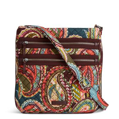 Iconic Triple Zip Hipster in Heirloom Paisley