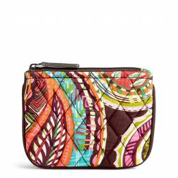 Vera Bradley Coin Purse in Heirloom Paisley