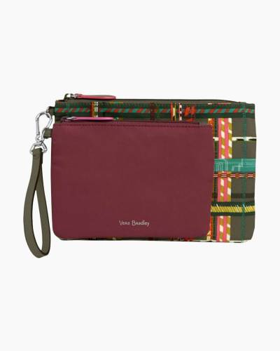 Midtown Pouch Duo in Preppy Poly Hawthorn Rose