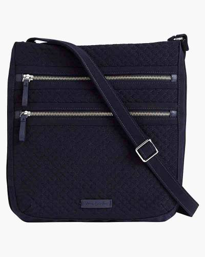 Iconic Triple Zip Hipster in Classic Navy