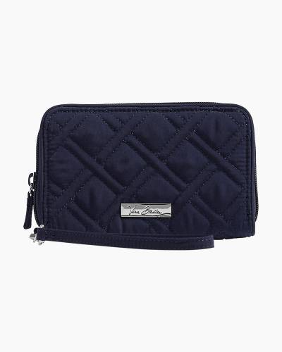RFID Grab and Go Wristlet in Vera Vera Classic Navy