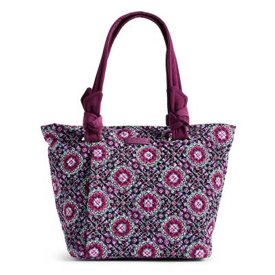 Hadley East West Tote in Lilac Medallion