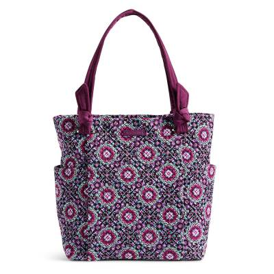 Hadley Tote in Lilac Medallion