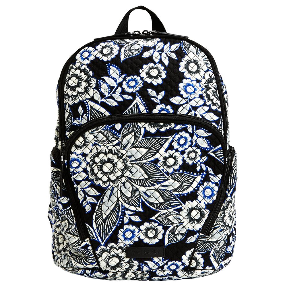 Vera Bradley Hadley Backpack In Snow Lotus The Paper Store