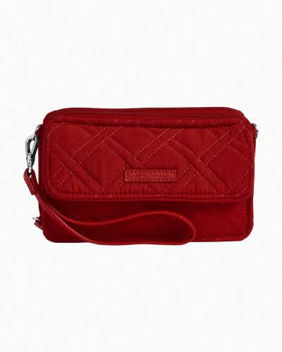 RFID All in One Crossbody in Vera Vera Cardinal Red
