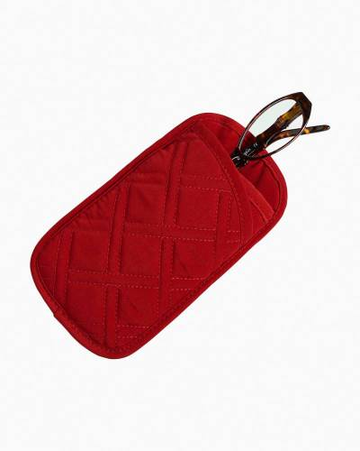 Double Eye Case in Vera Vera Cardinal Red