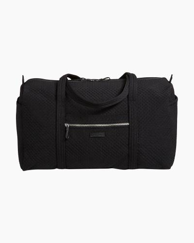 Iconic Large Travel Duffel in Vera Vera Classic Black