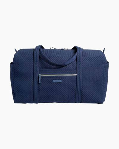 Iconic Large Travel Duffel in Classic Navy
