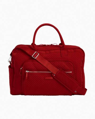 Iconic Weekender Travel Bag in Vera Vera Cardinal Red