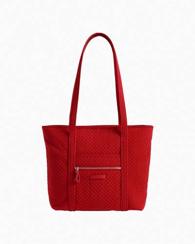 Iconic Small Vera Tote in Cardinal Red