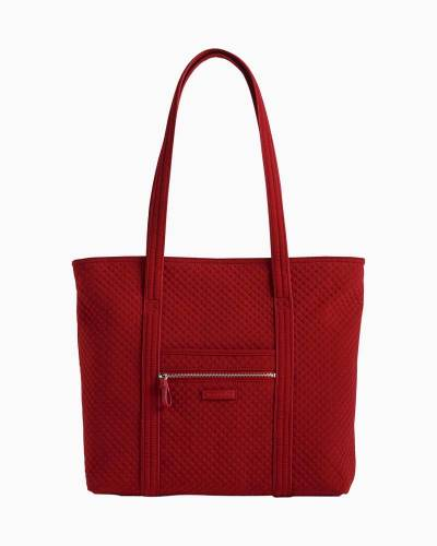 Iconic Vera Tote in Cardinal Red