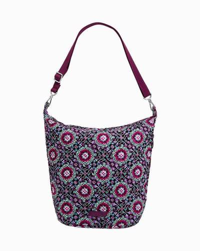 Carson Hobo Bag in Lilac Medallion