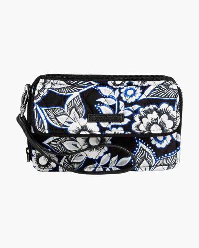 RFID All in One Crossbody in Snow Lotus
