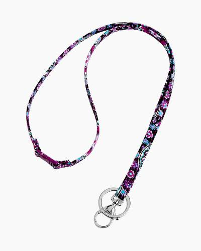 Breakaway Lanyard in Lilac Medallion