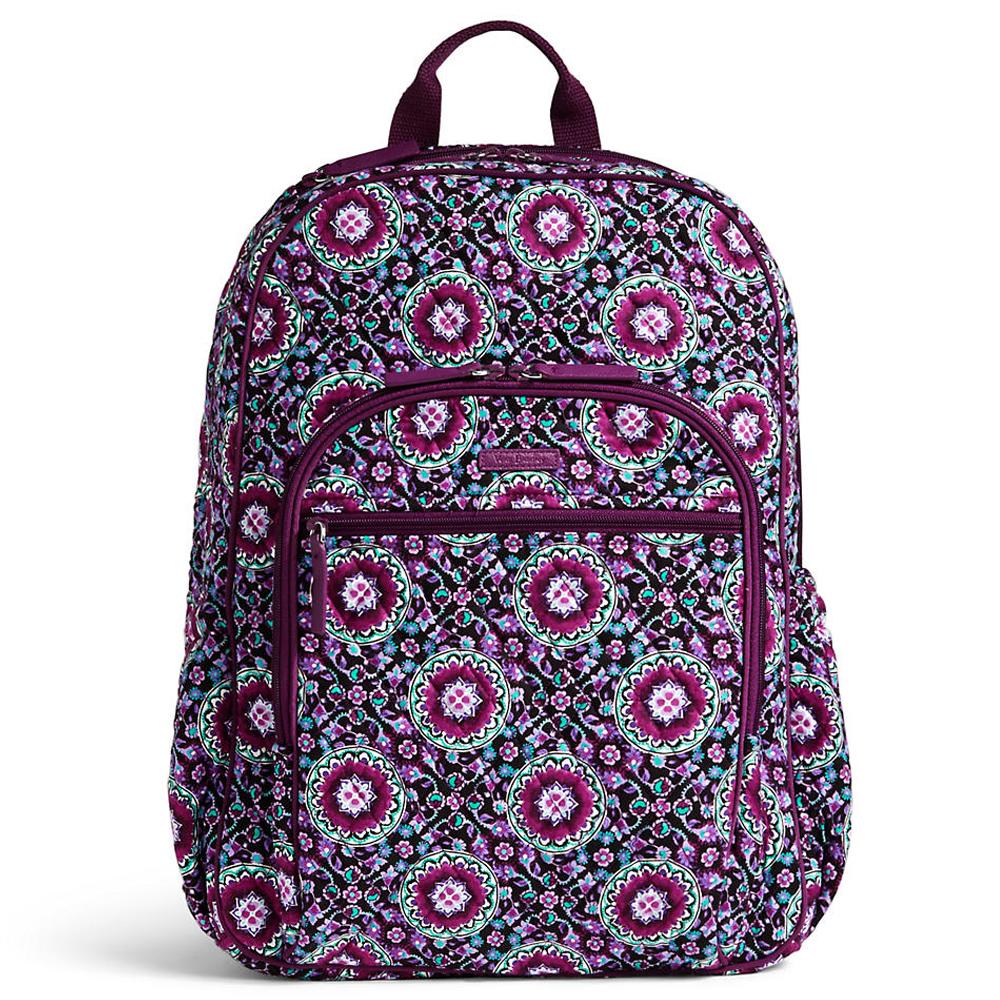 Vera Bradley Campus Tech Backpack in Lilac Medallion  2215b22101fd2