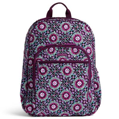 Campus Tech Backpack in Lilac Medallion