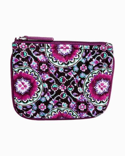 Coin Purse in Lilac Medallion