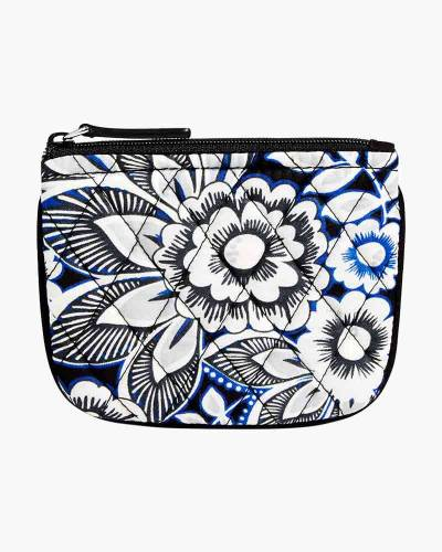 Coin Purse in Snow Lotus
