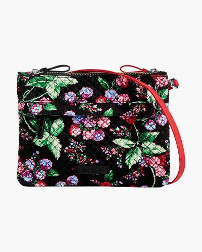 Iconic RFID Custom Crossbody in Winter Berry