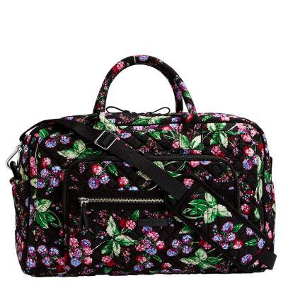 Iconic Compact Weekender Travel Bag in Lilac Medallion