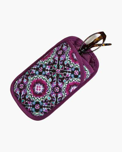 Double Eye Case in Lilac Medallion