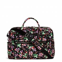Vera Bradley Iconic Grand Weekender Travel Bag in Winter Berry