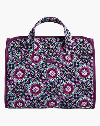 Iconic Hanging Travel Organizer in Lilac Medallion
