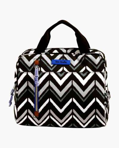 Lunch Cooler in Lotus Chevron