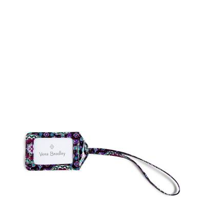 Iconic Luggage Tag in Lilac Medallion