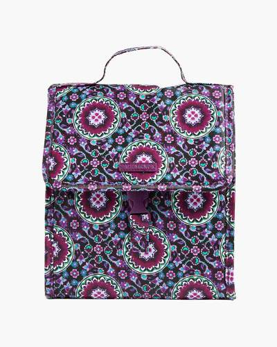 Lunch Sack in Lilac Medallion