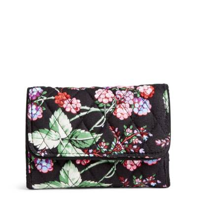 RFID Riley Compact Wallet in Winter Berry