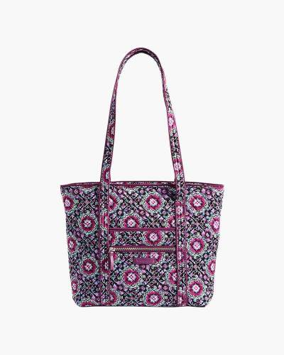 Iconic Small Vera Tote in Lilac Medallion