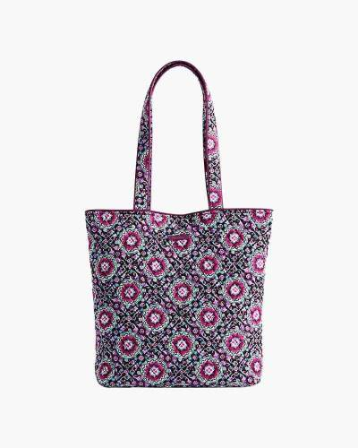 Tote in Lilac Medallions