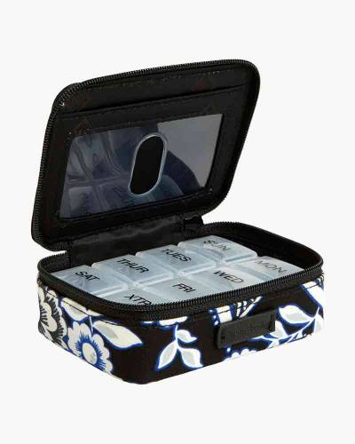 Iconic Travel Pill Case in Snow Lotus