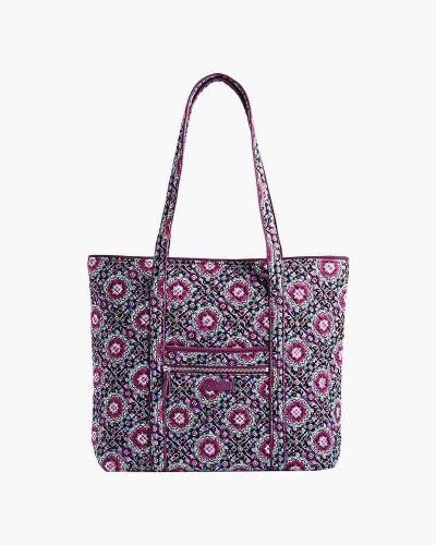 Iconic Vera Tote in Lilac Medallion