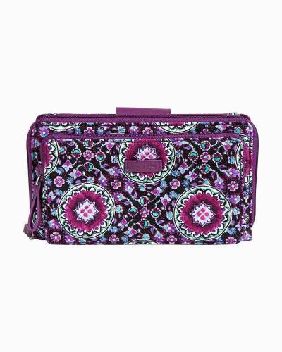 Iconic Deluxe All Together Crossbody in Lilac Medallion