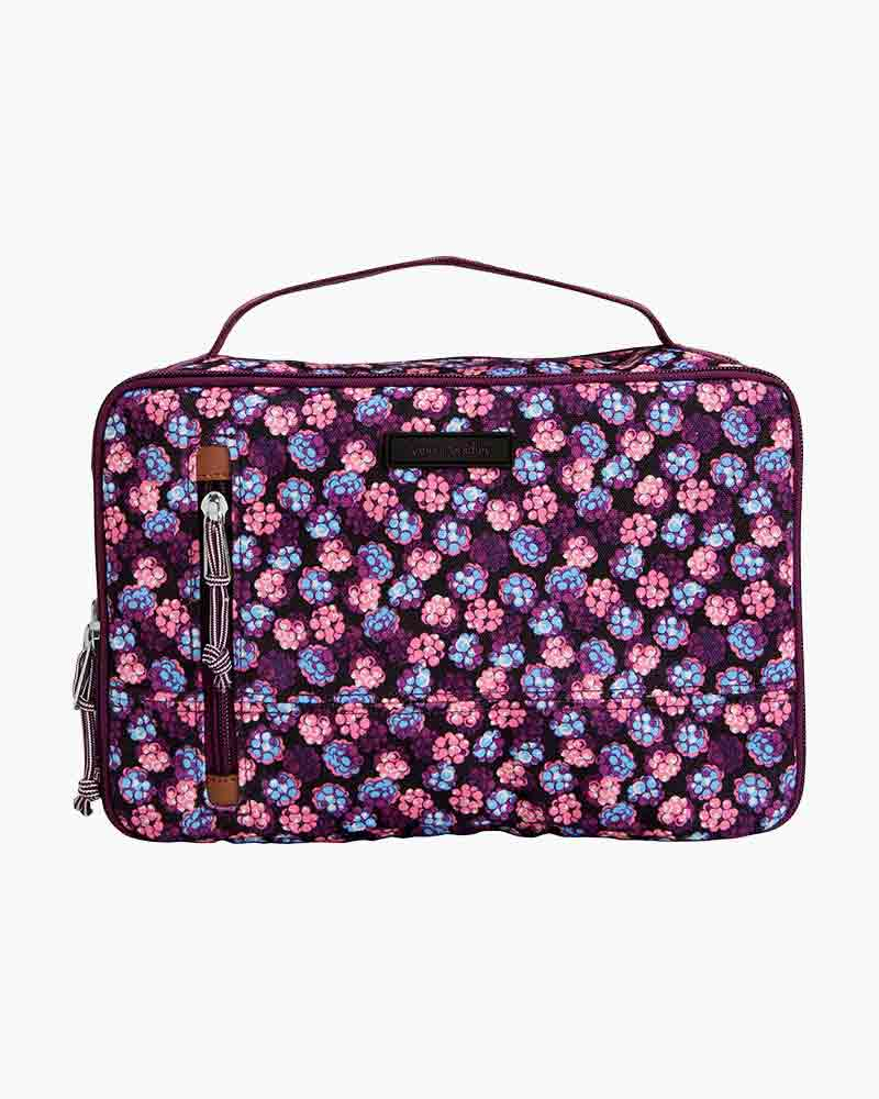 Vera Bradley Lighten Up Travel Organizer in Berry Burst   The Paper Store 46e5dede97