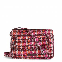 Vera Bradley Iconic RFID Little Hipster in Houndstooth Tweed