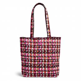 Vera Bradley Tote in Houndstooth Tweed