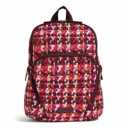 Vera Bradley Hadley Backpack in Houndstooth Tweed
