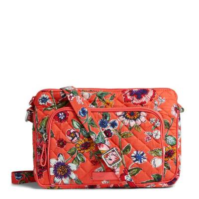 Iconic RFID Little Hipster in Coral Floral
